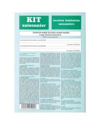 Weber Diffusion Kit de location, Saisonnier, Contrat, 725