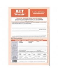 Weber Diffusion Kit de location, Habitation non saisonnière, Meublé, Contrat, 721
