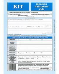 Weber Diffusion Kit de location, Habitation vide, Contrat, 720