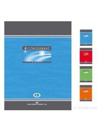 Conquerant Cahier de brouillon, 17x22mm, Grands carreaux séyès, 48 pages, 100103881
