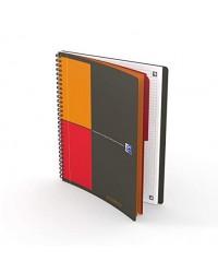 Oxford Cahier 2 en 1, B5 17x25mm, ACTIVEBOOK, Quadrillé 5x5, 160 pages petits carreaux, 400080786