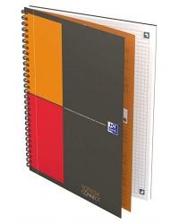 Oxford Cahier B5 17x25mm, NOTEBOOK, Quadrillé 5x5, 160 pages petits carreaux, 400080784