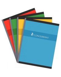 Conquerant Cahier 17x22mm, Quadrillé 5x5, Brochure 192 pages petits carreaux, 100104437