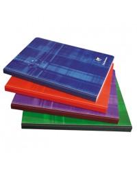 Clairefontaine cahier brochure A4 210X297 192 pages petit carreaux 5X5 69142C