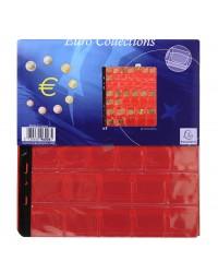 Exacompta Sachet 3 recharges numismatiques, Pour album à pièce de monnaie, 43 cases, 96006E