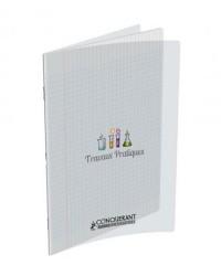Conquerant Cahier TP travaux pratiques, A4 210x297mm, 96 pages DESSIN + SEYES, 400002792