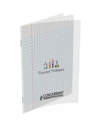 Conquerant Cahier TP travaux pratiques, 17x22mm, 64 pages DESSIN + SEYES, 400002790