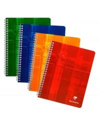 Clairefontaine cahier spirale 17X22 100 pages petits carreaux 5X5 8722C