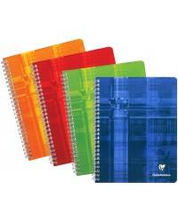 Clairefontaine Cahier à spirale A4, 210x297, Quadrillé 5x5, 100 pages petits carreaux, 68142C