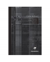 Clairefontaine Cahier de bord enseignant, A4 210 x 297 mm, 48 pages, à colonnes, 3119C