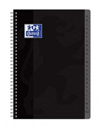Oxford cahier répertoire spirale A4 180 pages petits carreaux 5X5 100103166