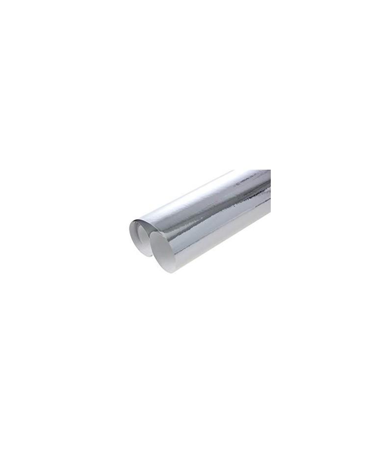 Clairefontaine rouleau papier métallisé 1 face 0.7x2M ARGENT 354176C