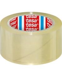 Tesa Ruban adhésif emballage, PP, 4195, 50 mm x 66 m, Transparent, 60 Microns, 04195-0-04