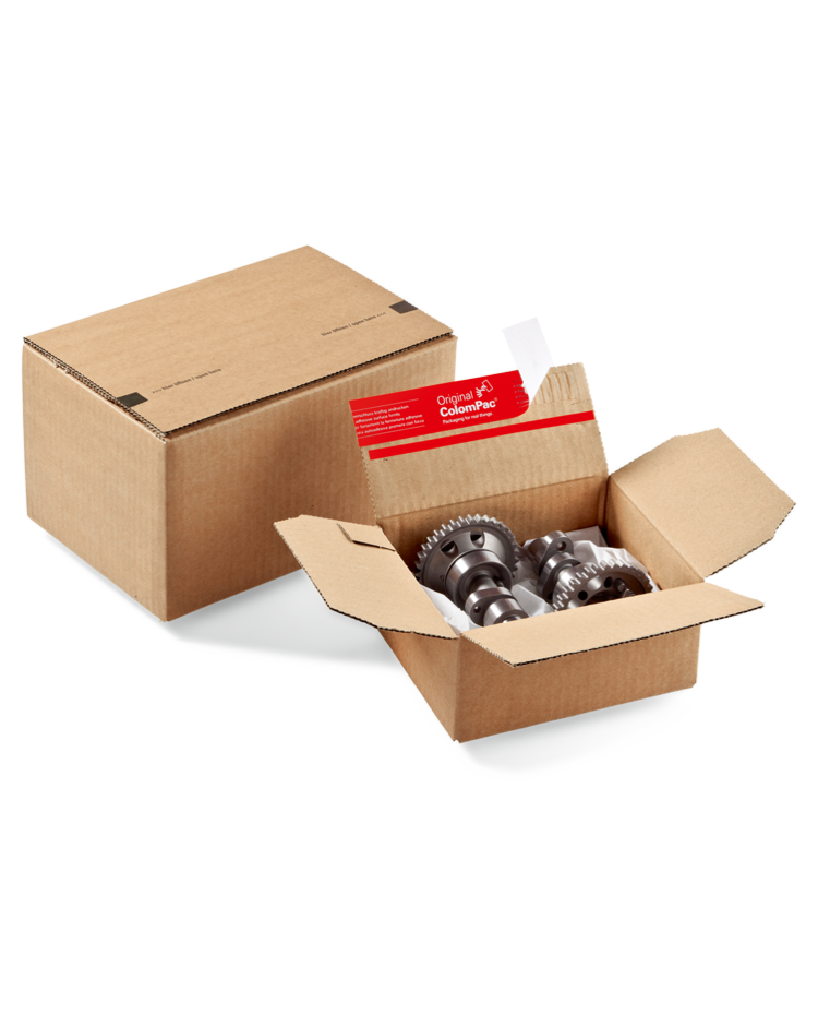 ColomPac carton à fond automatique, Fermeture autocollante, CP151.110