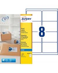 Avery boite 200 étiquettes d'expédition jet d'encre 99.1X67.7 J8165-25