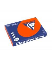 Clairefontaine ramette 500F papier A3 TROPHEE 80G ROUGE CARDINAL 1883C