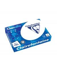 Clairefontaine Papier A4, Blanc, 160g, CLAIRALFA, CIE 171, Ramette de 250 feuilles, 2618C