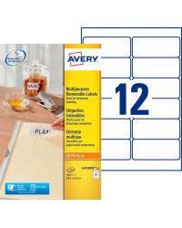 Avery paquet 360 étiquettes blanches enlevables 99X42 L4743REV-25