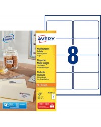 Avery paquet 800 étiquettes multi usages 105X70 3426-100