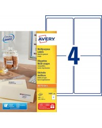 Avery paquet 400 étiquettes multi usages 105X148 3483-100