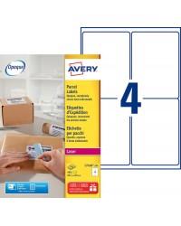 Avery paquet 400 étiquettes d'expédition 99.1X139 LASER L7169-100
