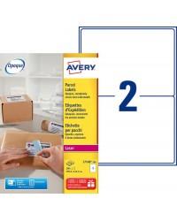 Avery paquet 200 étiquettes d'expédition A5 199.6X143.5 LASER L7168-100