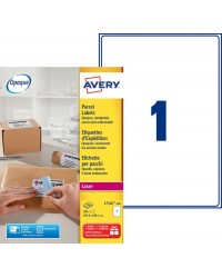 Avery Etiquettes d'expedition, A4 199.6 x 289.1 mm, Laser, Paquet de 100, L7167-100