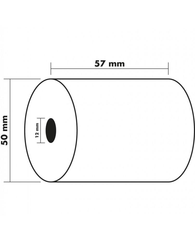 Exacompta Bobine papier Calculatrice 57X50X12MM 60g 40346E