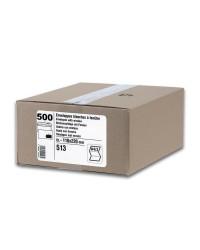 GPV Carton 500 enveloppes DL 110x220 blanches 80g, avec fenêtre, auto adhésives avec bande de protection 513