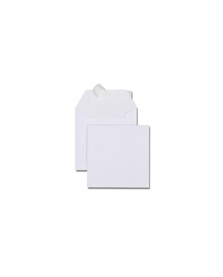 GPV Carton 500 enveloppes carre 150x150 blanches 120g OEM 4746