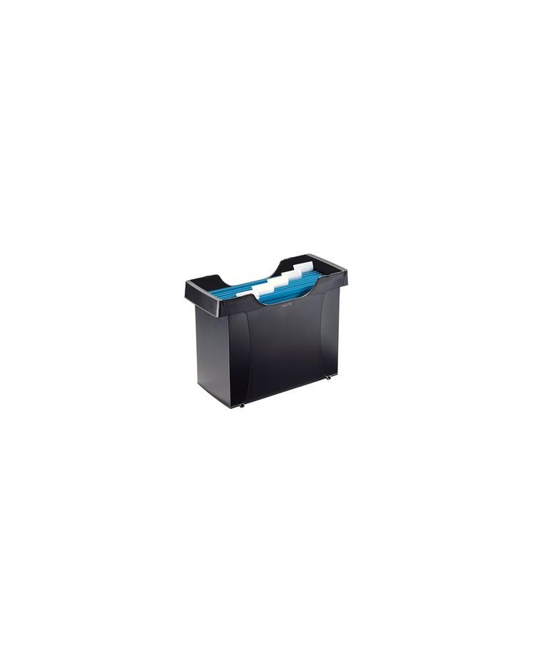 LEITZ Mini bac de rangement Plus, avec 5 dossiers suspendus