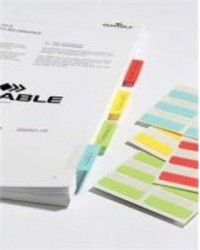 DURABLE Note adhésive Quick Tab Duo, en PET, couleurs