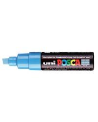POSCA Marqueur à pigment PC-8K, Bleu clair, PC8K BC, LARGE