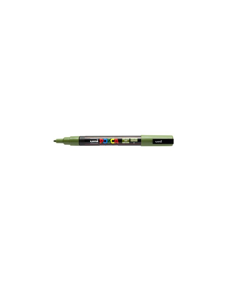 POSCA Marqueur à pigment PC-3M, vert kaki, PC3M VK