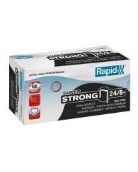 Rapid Agrafes Super Strong 24/8, galvanisé, Boite de 5000, 24860100