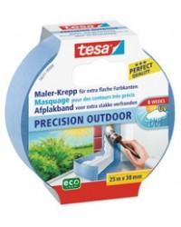 Tesa Ruban de masquage crêpé pour peintre Precision outdoor, 25m x 25mm , 56250-0-0