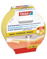 Tesa Adhésif de masquage, Precision Indoor, Peinture, 25 mm x 25 m, 56270-0-0