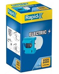 Rapid Cassette d'agrafes, 5020E 5025E, 2x1500 agrafes, 23271900