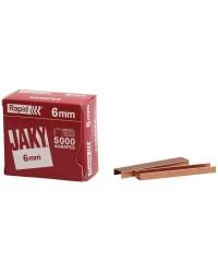 Rapid boîte de 5000 agrafes JAKY6 11720001