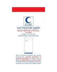 Elve bloc Maître d'hotel autocopiant 85x150 DUPLI 2232