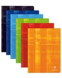 Clairefontaine Cahier 24x32, Grands carreaux séyès, 48 pages, 3311C