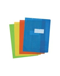 Elba Protège cahier 17x22, Couleurs assorties, Transparent, Strong line, 400050951