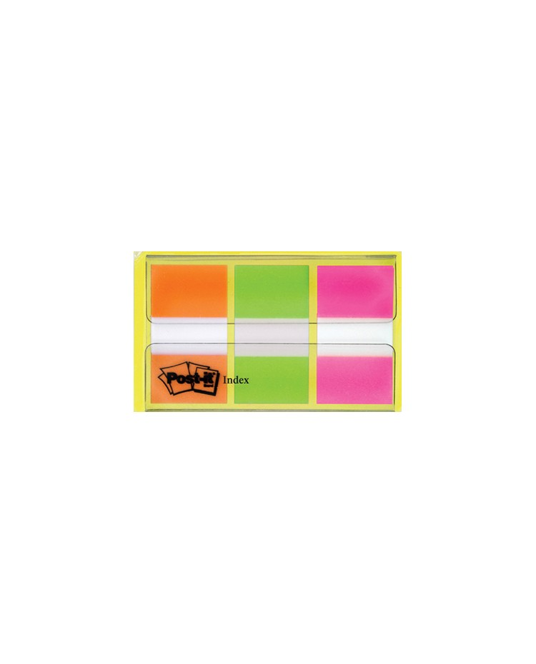 Post it Marque pages, 3x20 Index, Couleurs, BP957 / 680-OLP