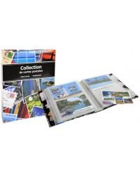 Exacompta Album de collection, Cartes postales, 20 x 25.5, 96115E