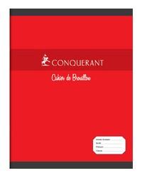 Conquerant Cahier de brouillon, 17x22mm, Grands carreaux séyès, 96 pages 100102470