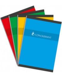 Conquerant Cahier A4 210x297mm, Quadrillé 5x5, Brochure 192 pages petits carreaux, 100102385