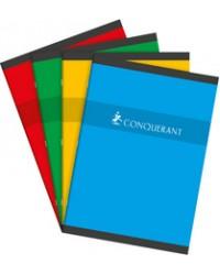 Conquerant Cahier A4 210x297mm, Quadrillé 5x5, 96 pages petits carreaux, 100102482