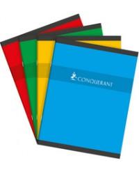 Conquerant cahier piqure 17X22 96 pages grands carreaux SEYES 100102555