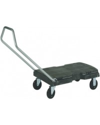 Rubbermaid Chariot de transport Triple, gris, FG440100