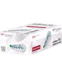 Tombow Souris, Roller correcteur, MONO AIR, 4,2MMx10M, Pack de 20,  CT-CA4-20